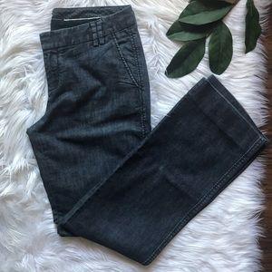 Gap Straight Leg Dark Wash Trousers